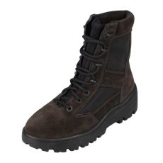 yeezy sale season 4 yeezy season 4 thick suede lace up combat boots brown us 6 luxe designer
