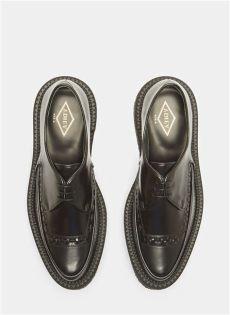 adieu shoes review adieu type 101 leather platform brogue shoes in black modesens