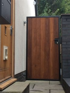metal framed wooden gates uk york side gate metal framed gates wooden garden gate side gates garden gates