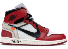 nike x off white air jordan 1 chicago 1 retro high white chicago aa3834 101