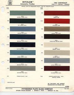 1963 chevrolet paint chips paint shops paint color