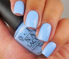 opi light blue nail polish opi the i s it a light blue creme nail shimmer from the opi quot through the