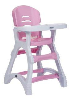 silla periquera bebe prinsel dinner reforzada rosa blanco 999 00 en mercado libre - Silla Periquera Prinsel Rosa