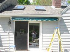 sunsetter awning setup installing a sunsetter awning