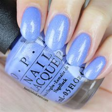 opi blue nail polish swatches opi new orleans collection show us your tips a medium cornflower blue with some flecks in