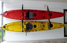 kayak storage with surf to summit kayak accessories paddle - Hang Kayak In Garage