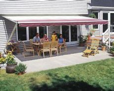 sunsetter manual retractable awning 10x10 ft 1000xt model deck patio awning ebay - Sunsetter Retractable Awning Installation Manual