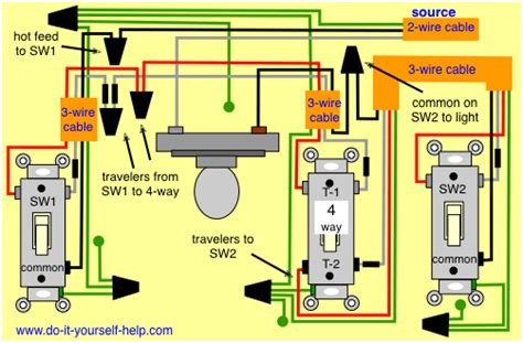 4 switch wiring diagrams