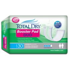 total dry booster pads totaldry duo booster pads 4 x 12 inch maximum absorbency vitality