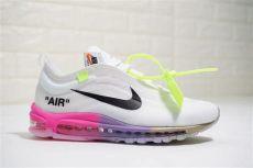air max 97 off white pink serena williams x white x air max 97 og white pink purple gold