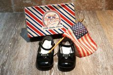 sam smith red shoes vintage 1950s sam smith shoe co yankees black patent leather janes 6 5 in white