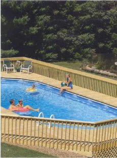 above ground pool deck plans oval above ground pool decks above ground oval pool deck plans image search results http www