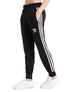 adidas bottoms lyst adidas originals poly 3 stripes in black