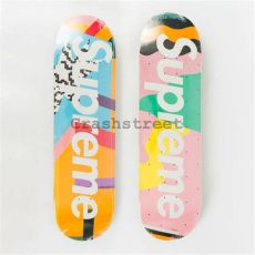 supreme mendini skateboard deck blue supreme ss16 alessandro mendini skateboard deck skate collection set of 2 ebay