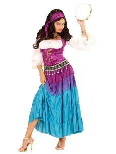 kostum kindheitshelden damen zigeunerin kost 252 m f 252 r damen kost 252 me f 252 r erwachsene und g 252 nstige faschingskost 252 me vegaoo