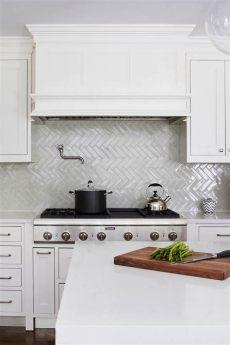 herringbone kitchen tile 50 white herringbone backsplash tile in style