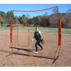 bownet pitching screen fast pitch equipment nets and protective screens pitching