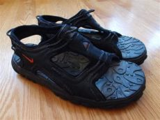 nike acg sandals 90s vintage nike acg sandals size 9 black hiking cing swimming 90s 00s