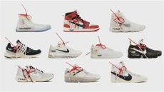 off white x nike shoes collection list of stockists for quot the ten quot white x nike collection upcoming sneaker releases