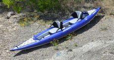 aquaglide chelan hb tandem xl review product review chelan hb two kayak from aquaglide for 1 2 paddlers airkayaks