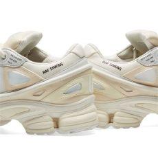 adidas raf simons ozweego 3 white adidas x raf simons ozweego bunny white black end