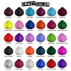 directions farbkarte our colours siam hair design