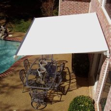 manual retractable awning by awntech - Sunsetter Awnings Model 1100 Manual