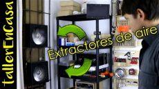 como hacer extractor de aire de pared casero - Extractor De Aire Casero
