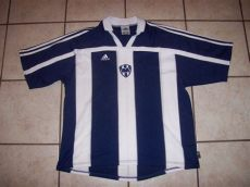 jersey rayados retro rayados de monterrey retro replicas football shirt 2000 2001
