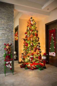 decoracion de navidad salas pequenas 2018 decoracion de interiores en navidad 2018 3 decoracion de interiores fachadas para casas como