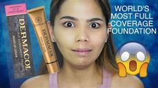 dermacol cover foundation does it really cover review demo skin asian skin - Dermacol Foundation Shades For Asian Skin