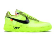 nike air 1 low white volt ao4606 700 - Off White Nike Air Force 1 Low Volt