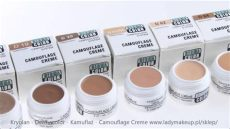 kryolan dermacolor camouflage cream d64 kryolan dermacolor kamuflaż camouflage creme