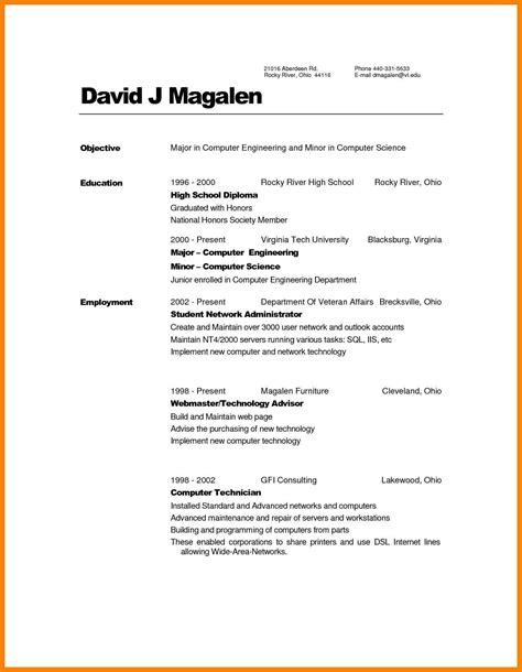 13 list education resume resume sles