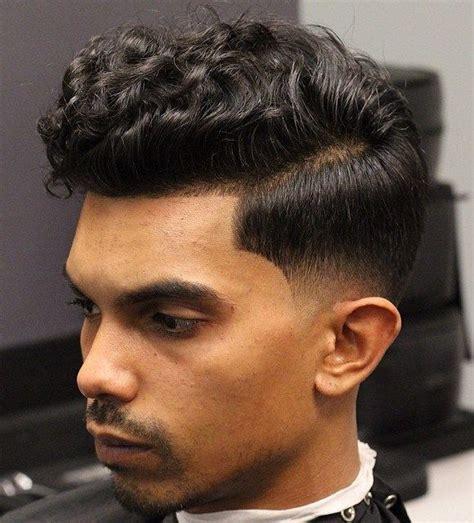 40 statement hairstyles men thick hair wavy hair