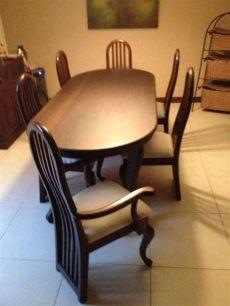 comedor de 6 sillas usado usado comedor de cedro con 6 sillas con espacio parra 8 sillas precio q4 750 con im 225 genes