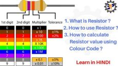 what is the value of the resistor with resistor color code in 4 band resistor part 1