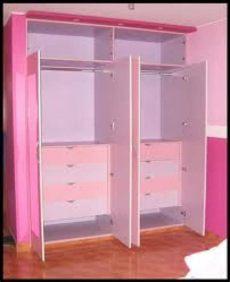roperos empotrados de melamina para ninos ropero de melamina color rosado ropero de melamina para ni 241 as closet para ni 241 os roperos para