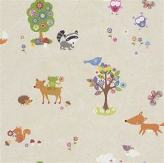 nursery wallpaper borders australia woodland animals wallpaper border wallpapersafari