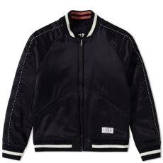 wacko maria jacket pewdiepie wacko tokyo skull souvenir jacket black black end