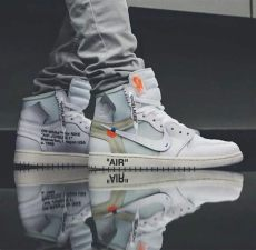 nike air retro 1 white in 2020 hype shoes shoes sneakers jordans mens nike shoes - Air Jordan 1 Off White Price In India