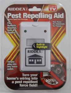 consumer reviews ultrasonic pest control riddex consumer reports