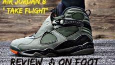 air 8 quot take flight quot review w on foot - Air Jordan 8 Take Flight On Feet