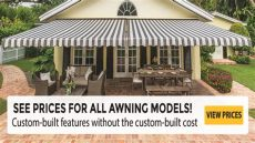 sunsetter installation cost see prices for all sunsetter awning models