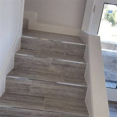 floor tiles stairs 6 ideas for finishing your basement stairs october 2017 toolversed