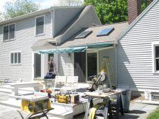 sunsetter installation installing a sunsetter awning