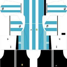 new dls argentina team home away goalkeeper kits urls - Dls 18 Kits Argentina Gk