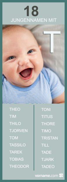 jungennamen mit t jungen namen baby vornamen und name f 252 r junge - Jungennamen Mit T
