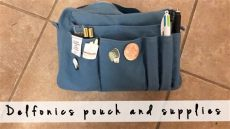 delfonics utility pouchpencil bag delfonics utility pouch journaling supplies