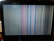 ayuda mi pantalla de laptop le salen rayas taringa - Porque Salen Lineas De Colores En Mi Pantalla